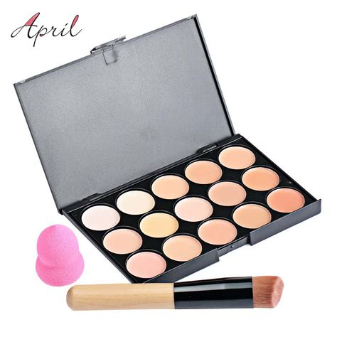 Pallet Make Up Inez 15 color pro corretivo rosto cartilha creme contorno