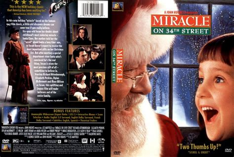 miracle on 34th street miracle on 34th street movie dvd custom covers