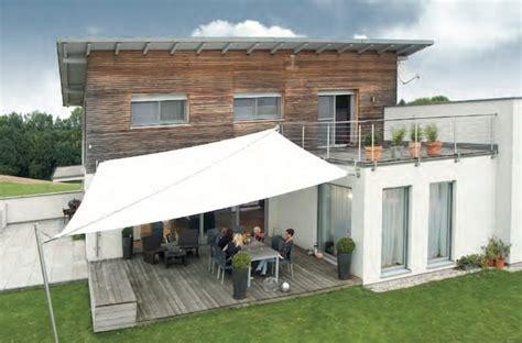 beschattung terrasse moderne beschattung f 252 r ihre terrasse ein sonnensegel