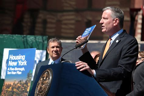 de blasio housing plan mayor de blasio unveils housing new york five borough 10 year housing plan city