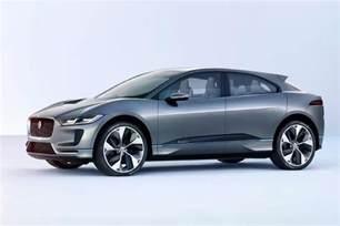 Future Jaguar Jaguar I Pace Suv Concept Shows The Electric Future That