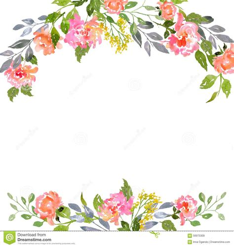 template wedding invitation or greeting card stock vector