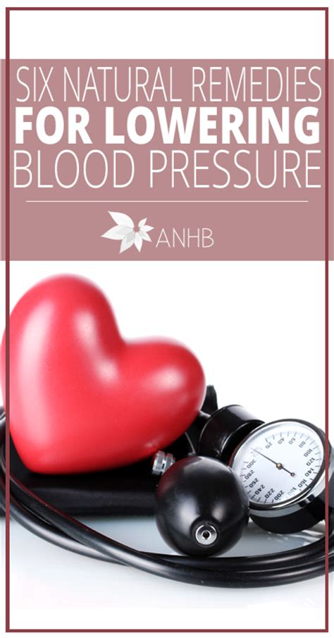 six remedies for lowering blood pressure fast