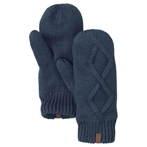 knit mittens with fleece lining timberland s fleece lined cable knit mittens