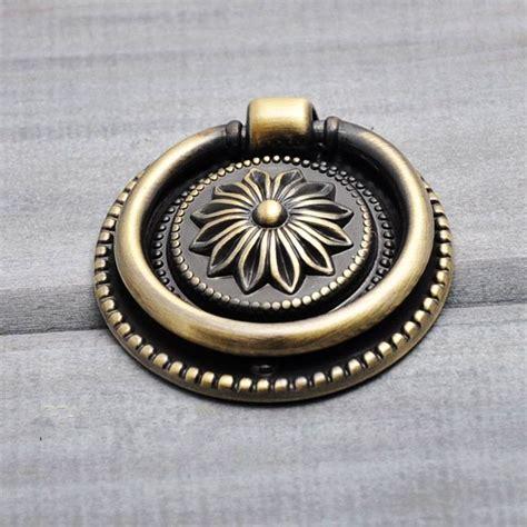 single hole cabinet pulls free shipping single hole antique bronze ring pulls round