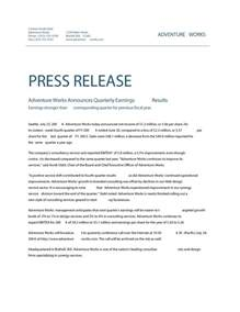 partnership press release template 46 press release format templates exles sles