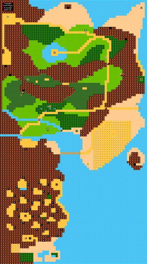 legend of zelda overworld map quest 2 zelda ii map zelda ii the adventure of link overworld map