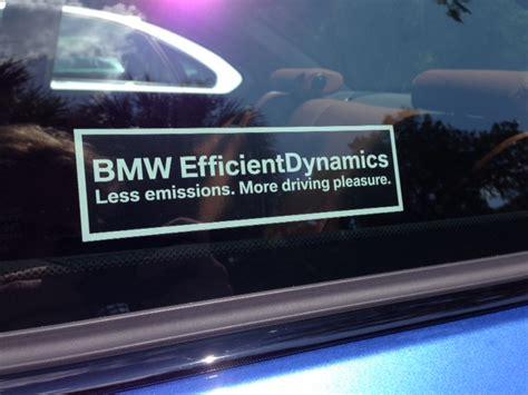 Bmw Efficient Dynamics Aufkleber efficient dynamics sticker