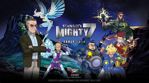 Watch Stan Lees Mighty 7 2014 Watch First Clip From Stan Lee S Mighty 7 Hits