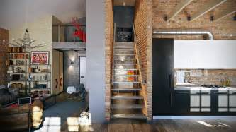 Loft Interior Design Ideas 3 Stylish Industrial Inspired Loft Interiors