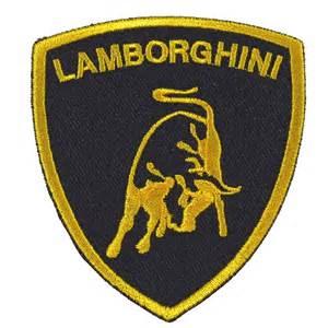 Lamborghini Stock Symbol Lamborghini Embroidered Patch Embroidery Logo Emblem