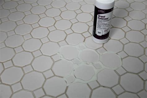 how to get bathroom grout white again how to refresh white grout on tile floors clean white grout