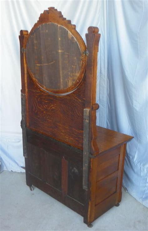 Bargain John's Antiques   Antique Victorian Oak Washstand
