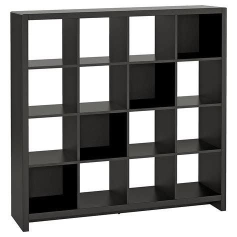 room divider cube bookcase kathy ireland 174 office 16 cube bookcase room divider