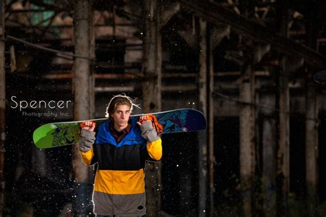 Senior Pictures With Snowboards senior pictures in cleveland cleveland senior portraits