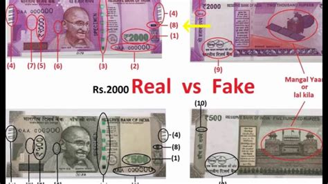 3 ways to identify new rs 500 and identify or real rs 2000 500 new note 21 points