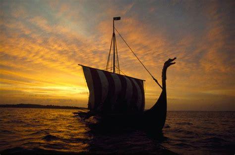 imagenes de barcos de la edad media los vikingos fueron probablemente los mejores marinos de