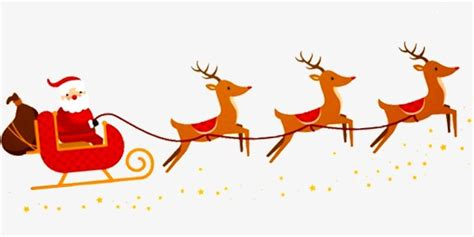 santa claus and reindeer santa claus reindeer yellow