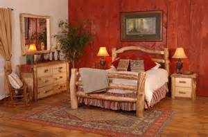 log bedroom furniture create a cabinesque bedroom with cabin log beds