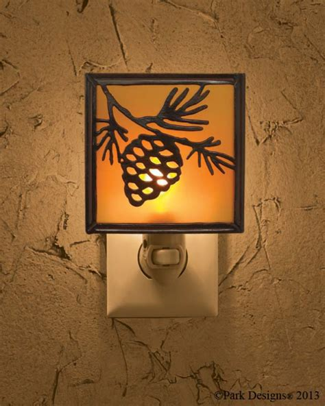 Decorative Bathroom Signs Home by Pine Cone Night Light Lanterns Amp Decorative Lights