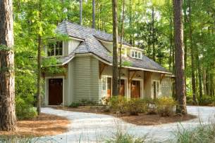 English Stone Cottage House Plans Cottage In The Woods Craftsman Garage And Shed