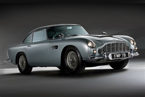 Aston Martin Goldfinger by Aston Martin Goldfinger Db5 Continuation Hiconsumption