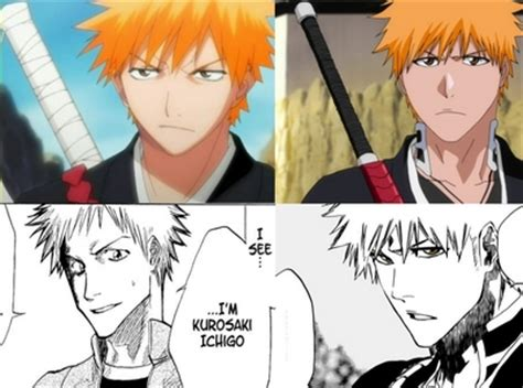 bleach hairstyles anime anime or manga who s art style evolved or changed anime