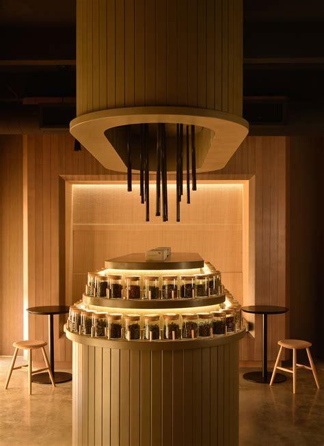 portland designers crafted  tea toned tea shop