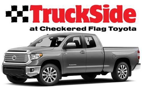 Checkered Flag Toyota Truckside Near Chesapeake Norfolk Checkered Flag Toyota