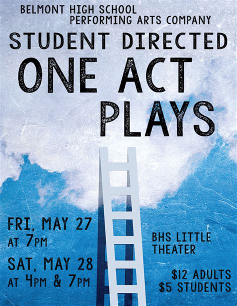 fifteen one act plays vintage all in ten minutes annual one act plays on stage friday saturday