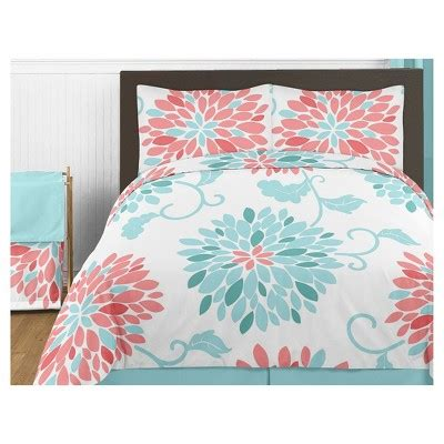 target coral bedding coral turquoise emma comforter set full queen sweet