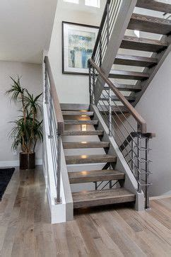 potter highlands  construction modern staircase
