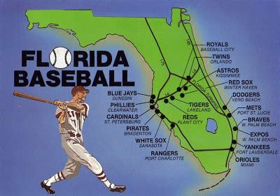 baseball florida map how many major league baseball teams in florida