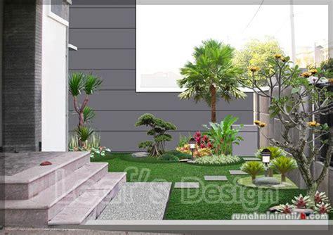 taman minimalis depan rumah jardim da entrada pinterest front yards landscaping  front