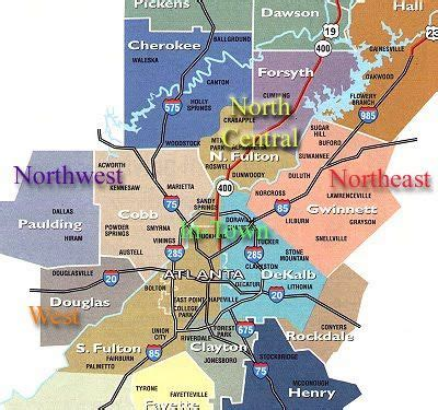 atlanta georgia surrounding area map atlanta metro map it is my hope that you found a decent