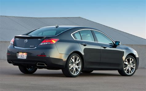 2013 Acura Tl Sh Awd With 19 Inch Wheels Rear View Photo 5