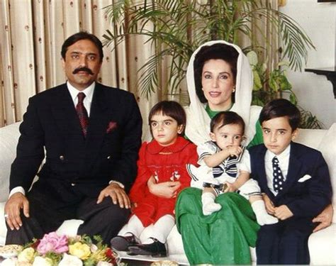 Benazir Bhutto Family   Celebrity Family