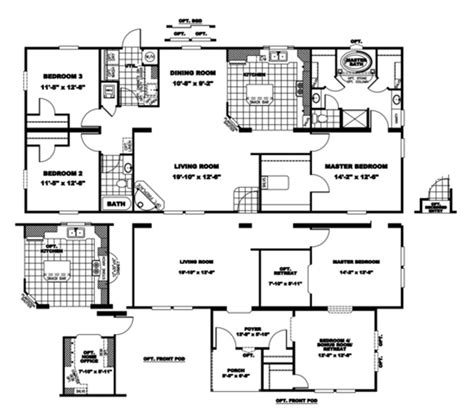 patriot homes floor plans patriot homes inc floor plans home plan