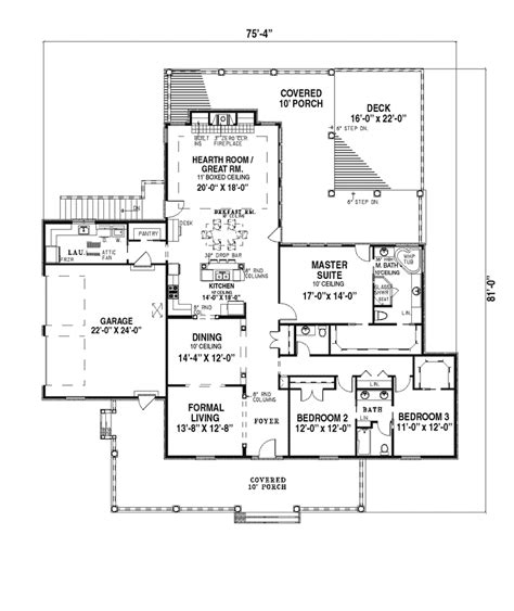 southern style floor plans eastgate southern style home plan 055d 0183 house plans and more