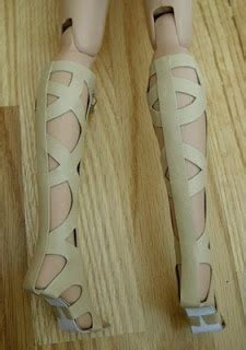 fashion doll zippers fashion doll shoes open toe boots with zippers