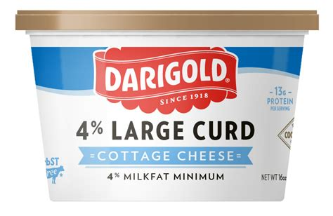 carbon dioxide in cottage cheese cottage cheese large curd 16oz darigold