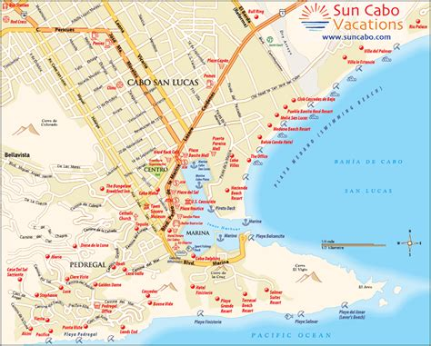 map of cabo san lucas cabo san lucas here we come mexico gate20 ca