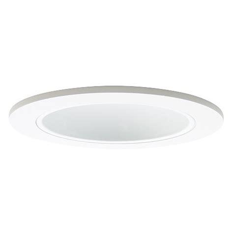 4 quot recessed lighting led retrofit white reflector white trim
