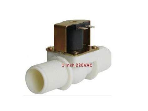 Kran Solenoid kran elektrik 1 inch plastik jual valve 1 inch otomatis