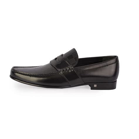 louis vuitton loafers black louis vuitton men s graduation loafers black s 42 8
