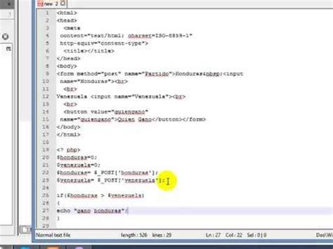 tutorial nvu youtube tutorial php y nvu para formularios youtube