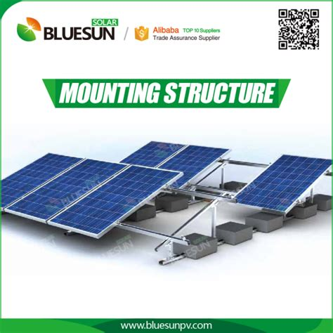 Ballasted Solar Racking by Buy Flat Roof Ballasted Solar Racking System Professional
