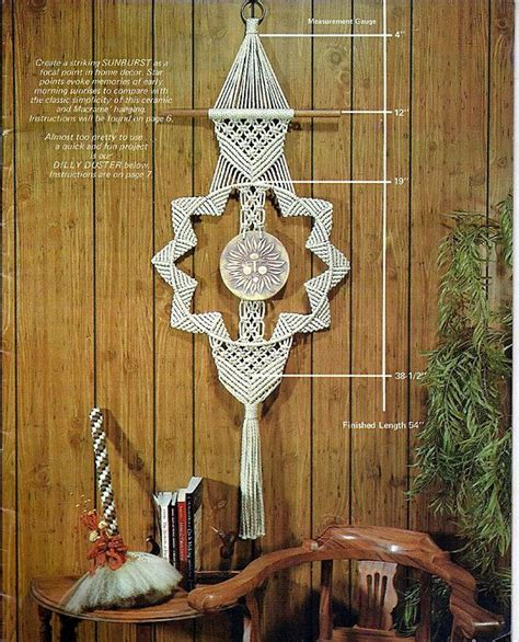 1000 ideas about macrame patterns on macrame