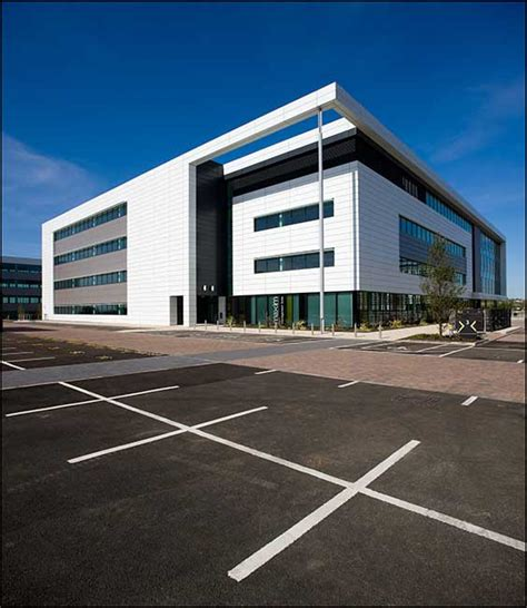 maxim office park scotland motherwell building  architect