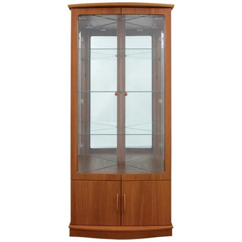 Glass Door Corner Cabinet Corner Cabinet Glass Doors Oak Corner Cabinet With Glass Doors Pine Four Door Corner Cabinet